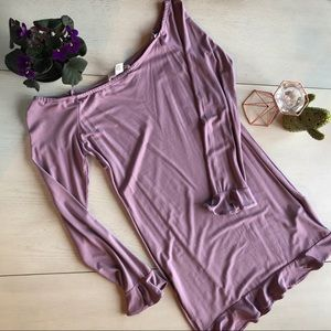 Forever 21 long sleeved, off the shoulder bodycon